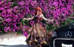 Gypsy Queen Ameynra. Cool patchwork skirt by Sofia by SOFIAMETALQUEEN