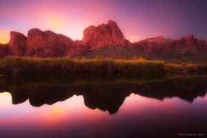 Salt River Sunrise by PeterJCoskun