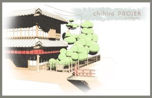 chihiro PROJEK_background 2(WIP) by mascerrado