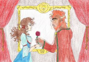 Hermione and the Beast by Kassis