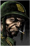 BOLLAND SGT. ROCK by LarsonJamesART