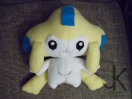 Jirachi Plush by justjenny322