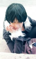 Izaya Orihara - Just me by Sandrichan