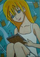 Namine ACEO commission by LadyNin-Chan