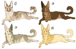 Cat Designs - Re-uploaded and now DESIGN TRADES by MaggotsPlz