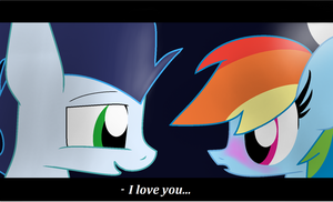 I love you by LittleCloudie