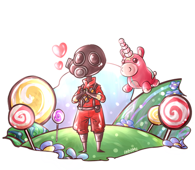 TF2 - Do you believe in magic ? by akkame