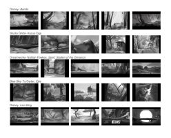 115- Forest Background Studies by Keeterz