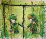 Saria's Gift X Ocarina of Time by AdamScythe