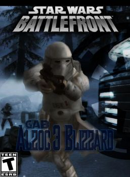 SWBF 2 : Alzoc 3 Blizzard Mod Game Cover by 411Remnant