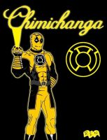 Sinestro Corps - Deadpool by pblimp360