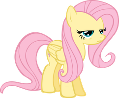 Fluttershy is not amused by Chisella1412