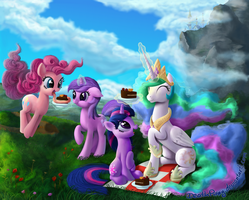 Quaint Picknick by DeathPwny