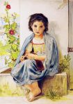 The Little Knitter - Bouguereau by PMucks
