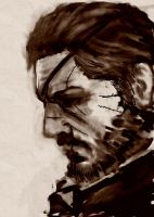 Big Boss Sketch by Leon8524