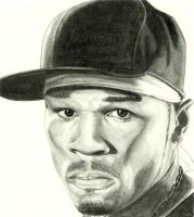 50 cent by maddrawings