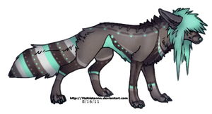 Wolf adopt AUCTION (CLOSED) by Adopt-LM