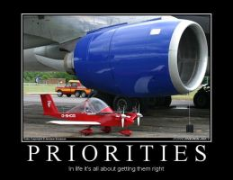 Priorities Demotivational by Denodon