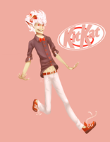Kitkat Candy by lillithsong
