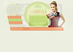 Glee Section Header by infrutescence