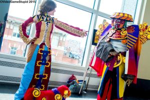 Anime Boston 2015 - Trainer and Guardian(PS) 03 by VideoGameStupid