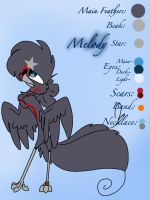 Official Melody Character Sheet 2013 (redone) by MOVEDTOHAWKBUTT