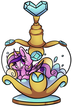 Cadence's Bottle by CutePencilCase