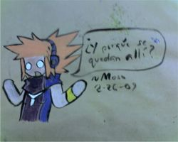 Neku has paint... by Moso-stuff