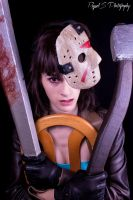 Jason Voorhees Doll by RaquelSPhotography