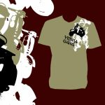 VESPA GANG PORTUGAL Tee 2 by Phomer