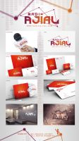 Radio Ajial Logo by Hamdan-Graphics