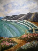 Sea Waves painting by i77310