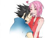 Gentle Smile: Sasuke+Sakura by Princess-Panda-chan