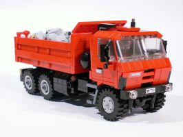 Tatra 815 - minifig scale by Scharnvirk