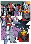 Starscreams Realm Page 4 colored by shatteredglasscomic