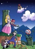 Mario Bros II: The Revenge by JimSam-X