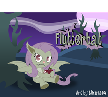 Flutterbat in HTF by Elica1994