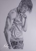Zac Efron by LeyuArt