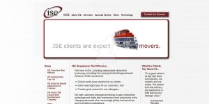ISE, LLC Website Design by onesweetpoison