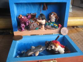 Underwater Pirate's Adventure! Final result! 1 by SelloCreations