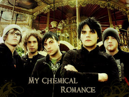 My Chemical Romance Wallpaper by Miserablexromance