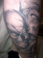 batman tatoo by friday13thkiller