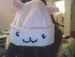 Kitty Kat Hat by CreamyCombustion