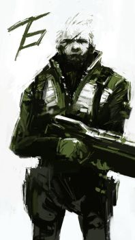 Solid Soldier 76 (Overwatch) by Alex-Chow