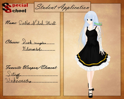 SS - updated application. by Cerashekus