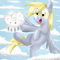 Derpy's Cloudmuffin by Leibi97