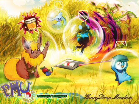 Concept Rangers: Honeydrop Meadow by Erladino