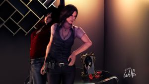 Ada and Helena: Agents of Allure by LoneWolf117