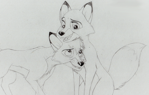 Tod/Vixey by The101stDalmatian