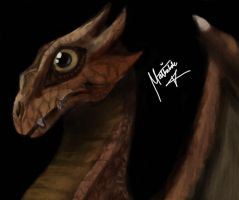 Dragon (Colored) by Kanberg